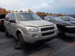 2007 Chevrolet Uplander Now Available At Kenny U-Pull Cornwall Cornwall Ontario image 1