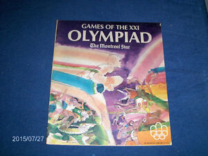 GAMES OF THE XX1 OLYMPIAD-7/1976-THE MONTREAL STAR-OLYMPICS-56 P