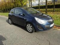 Vauxhall Corsa 1.2i 16v 2011/11 Exclusiv 3 door one owner long mot aircon