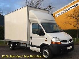 2009/ 59 Renault Master 2.5DCi Lwb Luton / Box van 12.5ft Body Rear Barn doors