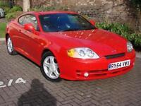 EXCELLENT SPORTS CAR!! 2004 HYUNDAI COUPE 2.0 SE LTD EDN AUTO BLACK LEATHER, 1 YEAR MOT, WARRANTY