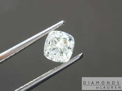 0.51ct J SI2 Cushion Cut Diamond R8481 Diamonds by Lauren