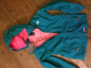 The North Face girls jacket sz M 10/12