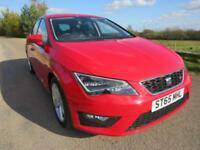 2015 65 SEAT LEON 2.0 TDI FR TECHNOLOGY (VAT QUALIFYING) ONE OWNER FROM NEW
