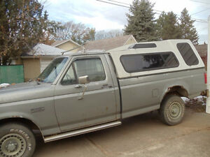 1988 Ford Pickup Truck c/w High-Rise Canopy Edmonton Edmonton Area image 3