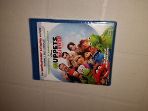 New Unopened Blu-ray Disney's Muppets Most Wanted
