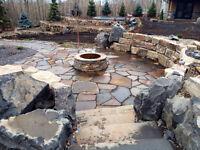 Custom Landscaping & Stone Installation!