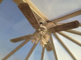 Ceiling Fan and lights Brand New BOXED
