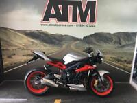 TRIUMPH STREET TRIPLE 675 RX 2015, 1 OWNER, TRIUMPH FSH, ABS (6 MONTH WARRANTY)