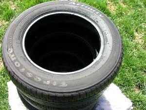 (4) Firstone 195 65r15 All-Season tires