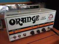 Orange Tiny Terror 15/7 watts all valve