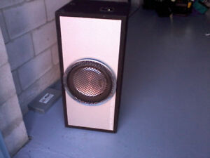 """12"""" Clarion Sub Woofer in ROXBOX 'Mint'"""