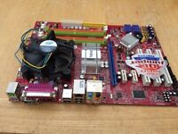 MSI MS-7519 motherboard with dual core chip