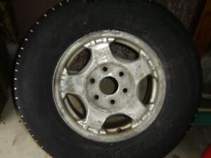 Chev/GMC Truck Rims and tires x 4