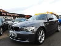 2007 BMW 1 SERIES 116i SE + HALF LEATHER SPORTS SEATS + FSH + FINANCE AVAILABLE
