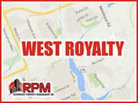 WEST ROYALTY HOMEOWNERS – WE HAVE TENANTS WAITING!