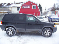 2003 Ford Escape XLT Leather SUV, Crossover