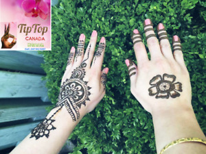 Henna artist at your event $5 onwards