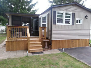Glendette home  (40'x12') with  20'x10' florida rooom Kitchener / Waterloo Kitchener Area image 1