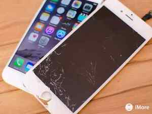 Iphone repair cracked screen replacement 5 5s 6 6s plus lcd