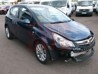2014 Vauxhall Corsa 1.2 SE DAMAGED REPAIRABLE SALVAGE