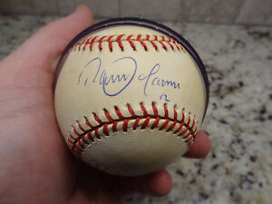 Blue Jays Alomar Molitor Signed MLB Ball World Series Year