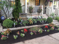 Flower Bed Planting Mulching Weed Removal Lawn Care