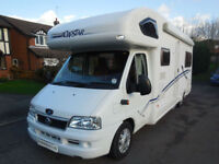 Lunar Roadstar 726 6 Berth Family Motorhome JUST REDUCED!!!