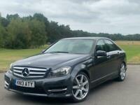 2013 Mercedes-Benz C Class C220 CDI BLUEEFFICIENCY AMG SPORT Auto Saloon Diesel