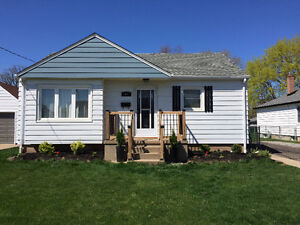 BEAUTIFUL BUNGALOW FOR LEASE WITH FINISHED BASEMENT