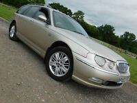2002 ROVER 75 TOURER 2.0 CDT DIESEL AUTO Club SE ESTATE**NEW MOT**