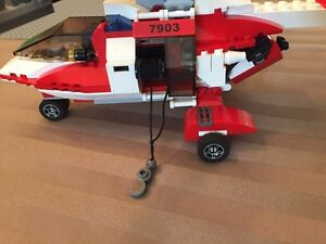 Lego city helicopter.