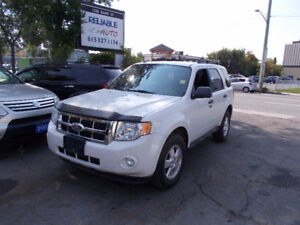 2010 Ford Escape 126.000 KM 5 SPEED MANUAL SAFETY+1YEARWARRANTY