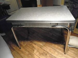 Vintage Chrome table