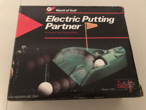 Electronic Putter And Golf Club Cover