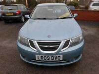 2009 SAAB 9-3 VECTOR SPORT, 4 DOOR SALOON, 1.9 DIESEL IN METALLIC BLUE