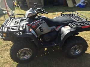 2004 Polaris 700 must sell! With plow. $4800