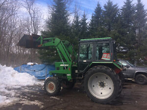 This is a 1999 Balaris 5150 4Wheel Dr. cab and loader