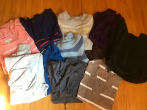 11 Brand Name Women's Large Tops