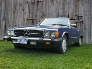 Mercedes coupe convertible