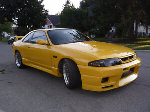 1993 Nissan Skyline Coupe, Turbo, 2 doors, 5 speed, 80000 km