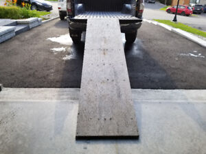 Rampe pour camion standard