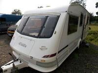 Elddis GT Cyclone 1998 5 Berth Lightweight Touring Caravan In Great Condition
