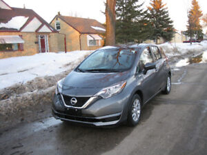 2017 NISSAN HATCHBACK, LOW KM, CAMERA, HEATED SEATS, GREAT PRICE