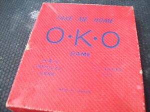 1-JEU DE SOCIETE O.K.O. TREMBLAY GAME,ANTIQUE-COLLECTION.