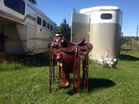 """16"""" Wade Ranch/Roping Saddle"""