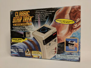 STAR TREK MOVIE SERIES STARFLEET WRIST COMMUNICATOR BY PLAYMATES