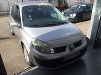 Renault Megane Scenic 1.6 Automatic Mot and Tax