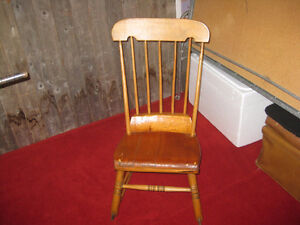 Antique rocker rocking chair