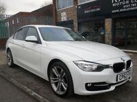2012 BMW 318 2.0TD ( 143bhp ) ( s/s ) D Sport 4DR 62REG Diesel White